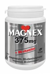 MAGNEX  375 mg + B6 vitamiini