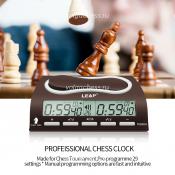 шахматные часы электронные Leap PQ9903A