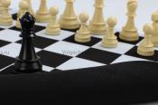 Резиновая шахматная доска ЛЮКС