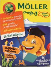 Moller Omega 3 (Рыбки) - 45 капсул