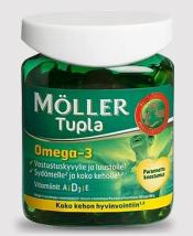 Moller Tupla Omega-3  100 капсул
