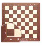 Шахматная доска деревянная цельная №5